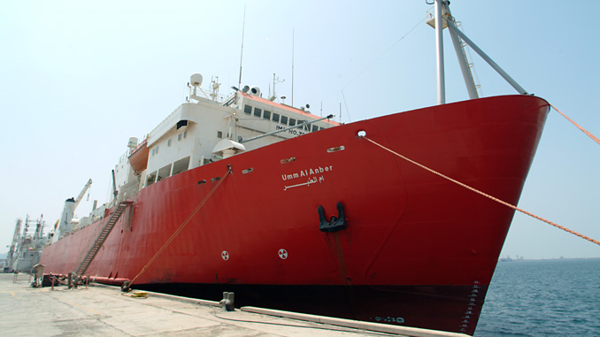 This E-Marine cable layer vessel is being upgraded with Wärtsilä solutions to achieve greater efficiency