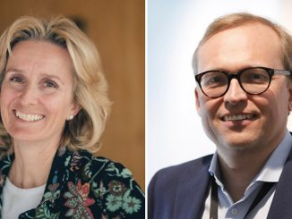 Irene Rummelhoff, Equinor's executive vice president for Marketing, Midstream and Processing (MMP) and Kjetil Johnsen, vice president for the shipping, ship technology and vetting unit