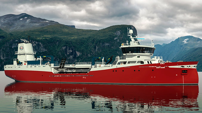 'Færøysund' live fish carrier is set to become one of the most environmentally friendly vessels of its kind, thanks to ABB's power and energy system