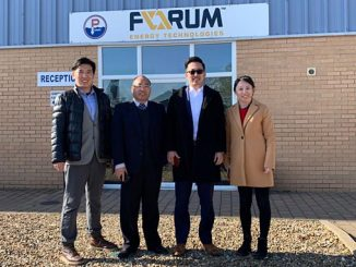 Representatives from Wuxi Haiying-Cal Tec Marine Technology Co., Ltd visiting Forum Energy in 2019