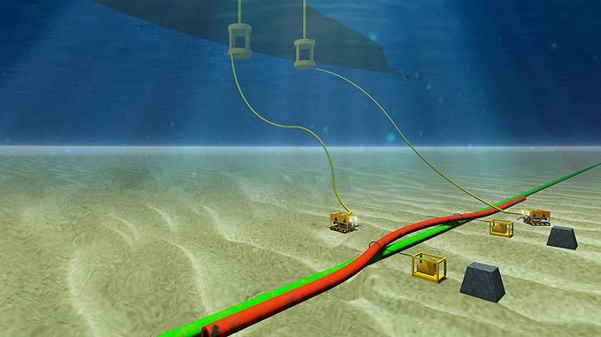 ROV services for inspection, repair and maintenance of subsea pipeline