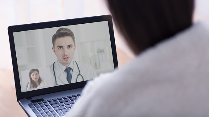 The secure Iqarus telemedicine platform provides video conferencing for return to work and routine occupational health consultations (photo: Getty Images/iStockphoto)