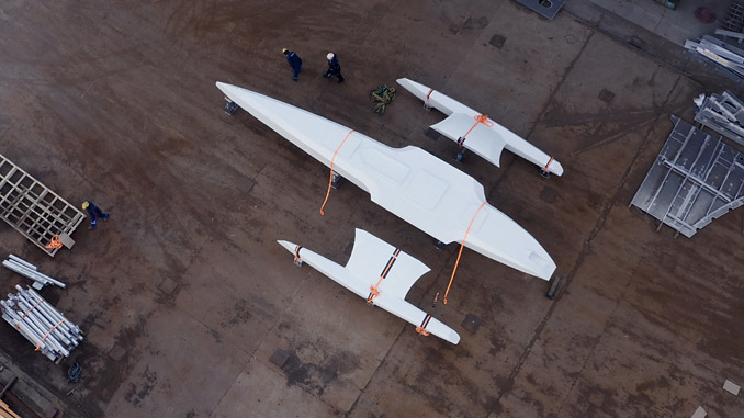 The 'Mayflower' project features state-of-the-art technologies, including the Wärtsilä RS24 high-resolution radar system