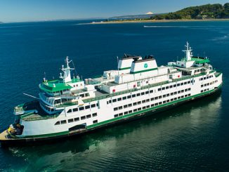 The first hybrid-electric 'Olympic Class' ferry will join the Washington State Ferries' fleet in 2024