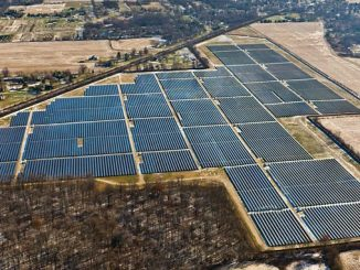 A Wood solar project delivered in the US