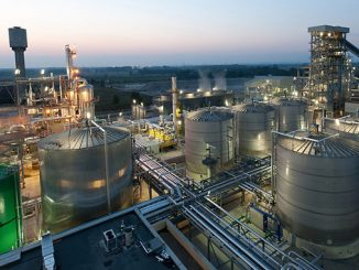 The Versalis Crescentino biomass chemicals plant (photo: Eni)