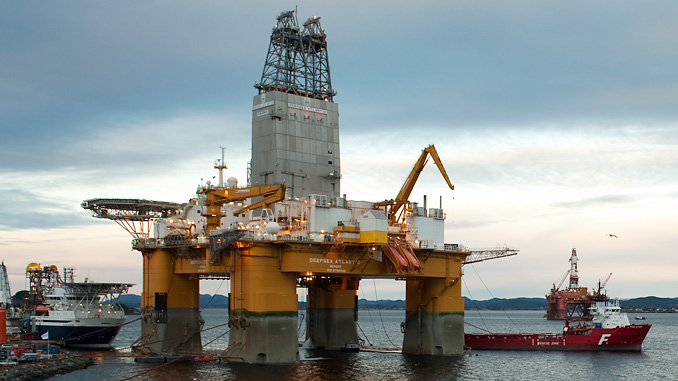 The 'Deepsea Atlantic' drilling rig (photo: Equinor ASA/Marit Hommedal)