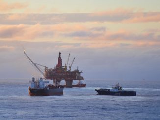 The Statfjord B platform in the North Sea (photo: Equinor ASA/Harald Pettersen)