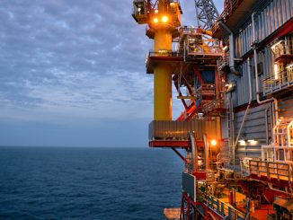 The Kvitebjørn platform in the North Sea (photo: Equinor ASA/Harald Pettersen)