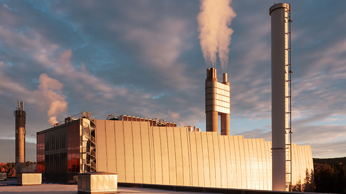 Fortum's waste-to-energy plant in Oslo, Norway