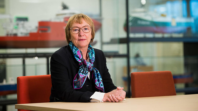 """GIEK chief executive Wenche Nistad: """"The more you consider buying from Norway, the more you can count on getting guarantees from GIEK"""" (photo: GIEK)"""