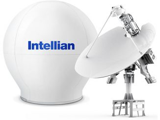 Intellian's next-generation v240M Gen-II dual band antenna