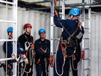 On-site GWO-accredited training at the Maersk Training Paisley facility (photo: Maersk Training)