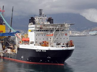 Saipem's state-of-the-art field development ship, 'FDS'