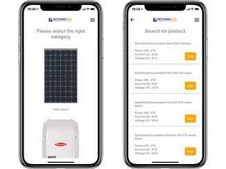 The spare PV parts app – spend less time searching and more time on site (illustration: SecondSol)