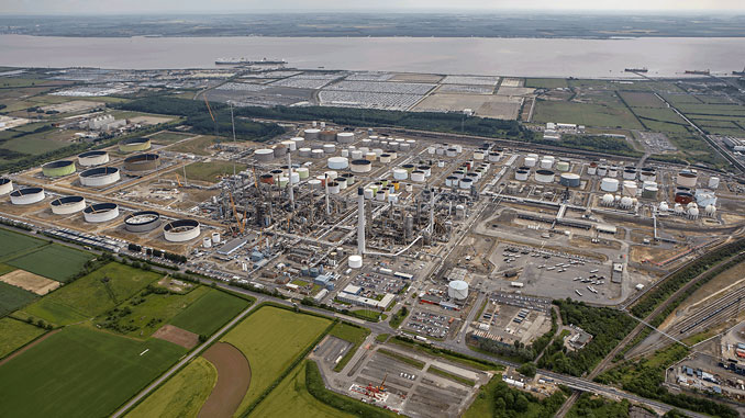 Lindsey refinery in Immingham, Lincolnshire, England (photo: Total)