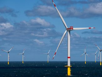 Trianel Windpark Borkum II in Germany