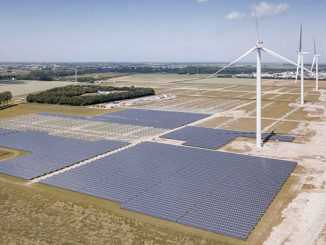 Vattenfall is currently constructing its largest hybrid energy park at Haringvliet, the Netherlands