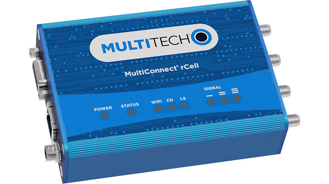 Top-selling router achieves Class 1, Division 2 certification from the National Fire Protection Association (NFPA) and EU II 3G Ex ec IIC T5 Gc certification (photo: Multi-Tech Systems, Inc.)