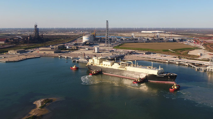 Cheniere LNG's Corpus Christi liquefaction facility is the first greenfield liquefaction facility in the US lower 48