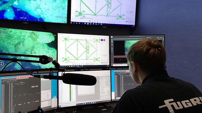 Fugro's state-of-the art remote operations centre in Aberdeen