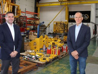 From left, MRDS Managing Director, Ian McGillivray, and MRDS Executive Chairman, Ronnie Garrick