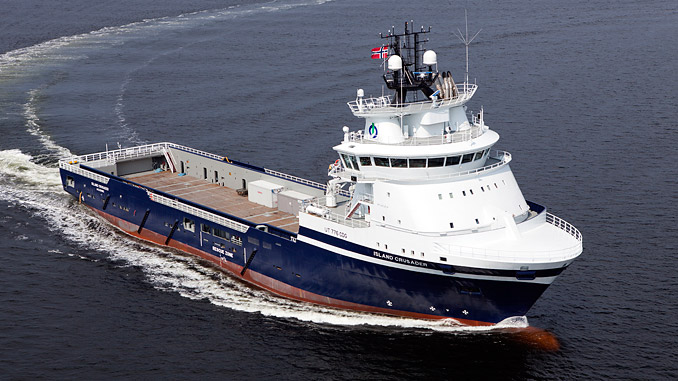 The Norwegian oil-industry solutions provider Island Offshore has set a clear precedent in the market by contracting KONGSBERG to convert three of its Platform Supply Vessels to use hybrid power technology (photo: Island Offshore)