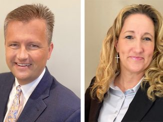 Jōb Industrial Services' vice president-engineering, Steve Hermansen, and vice president-sales and marketing, Lisa Tyree