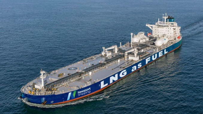 Newport Shipping sees the potential of LNG to meet with future regulatory requirements