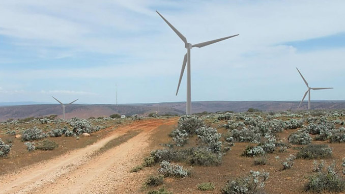The Lincoln Gap Wind Farm will ultimately consist of 464 MW of wind turbines