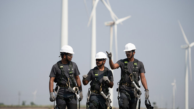 The wind project will be developed in the state of Rajasthan and is expected to be commissioned by September 2021