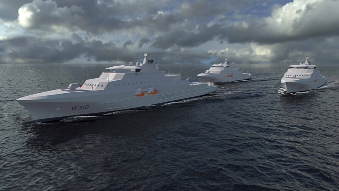 Kongsberg Maritime will deliver its SS1221 sonars to three new vessels for the Norwegian Coastguard