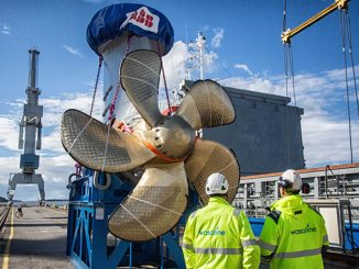 Azipod® propulsion for Wasaline's new ferry