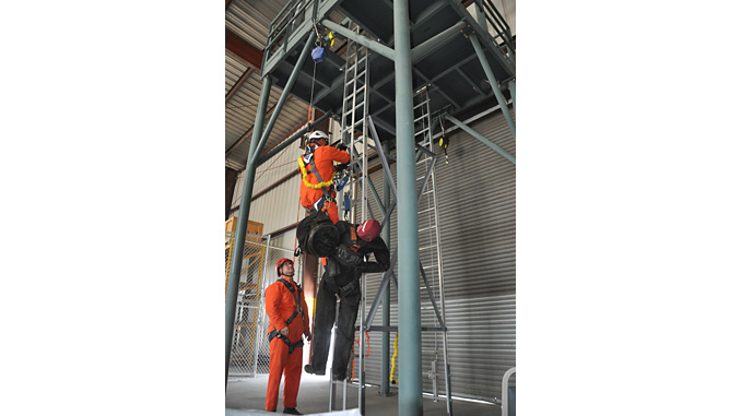 Alpha's new training centre in Houston allows delegates to be trained to GWO standards