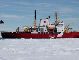 The 'CCGS Amundsen' will be the only vessel in its class to be fitted with Retractable Thrusters and Dynamic Positioning – the solutions are being supplied by Wärtsilä (photo: Canadian Coast Guard)