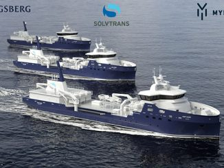 Kongsberg Maritime will design and equip the third Sølvtrans wellboat in a series to be built by Myklebust Verft