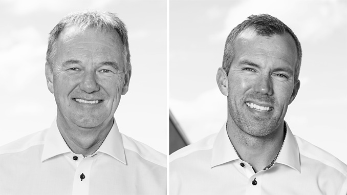 From left, Øystein Eide leads Marwell's drilling and well construction segment and Petter Rommetvedt heads up completion at Marwell