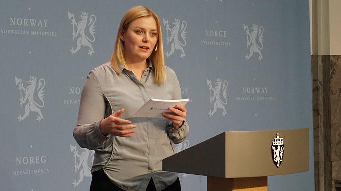 Norwegian Minister of Petroleum and Energy, Tina Bru