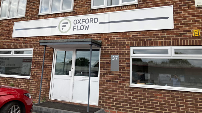 Oxford Flow has opened its new manufacturing facility in Oxford to fuel its ambitious growth plans