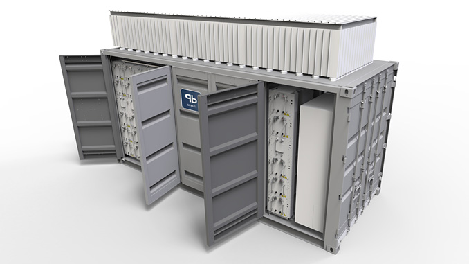 Sterling PBES containerised microgrid energy storage system, CanPower