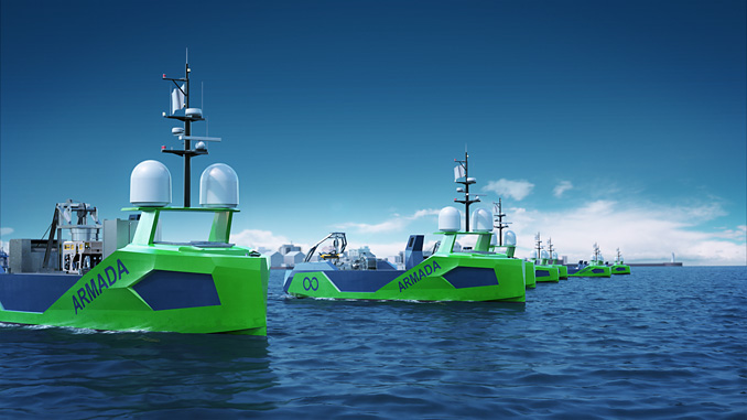 Saab Seaeye Leopards join the 'Armada' fleet of unmanned surface robot vessels