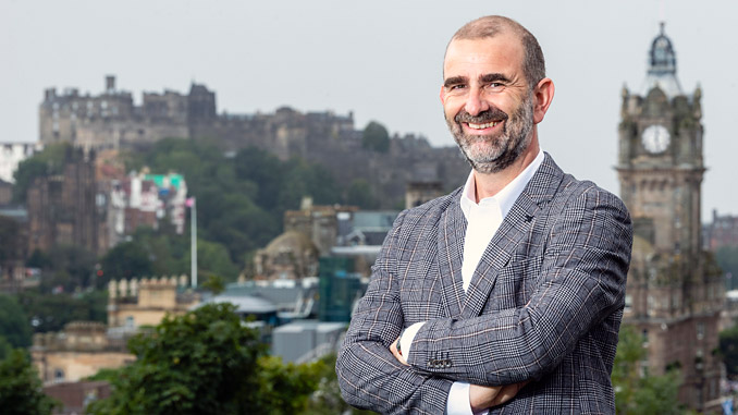 Helping others: Andy Todd, a former senior VP with Wood Mackenzie, is launching The Alternative Board in Edinburgh