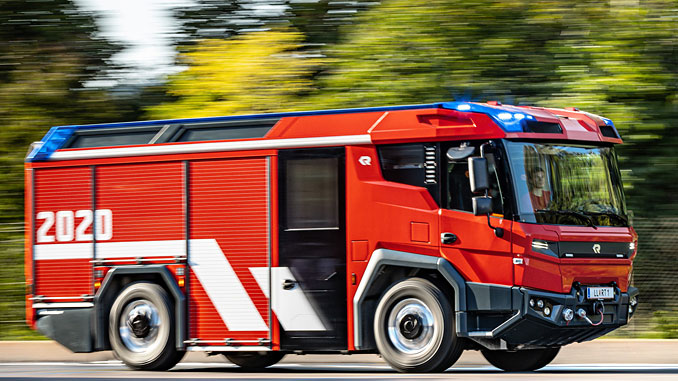 Three pioneering fire trucks featuring Volvo Penta electric drivelines are on their way to fire departments in Berlin, Amsterdam and Dubai to begin real-world customer testing