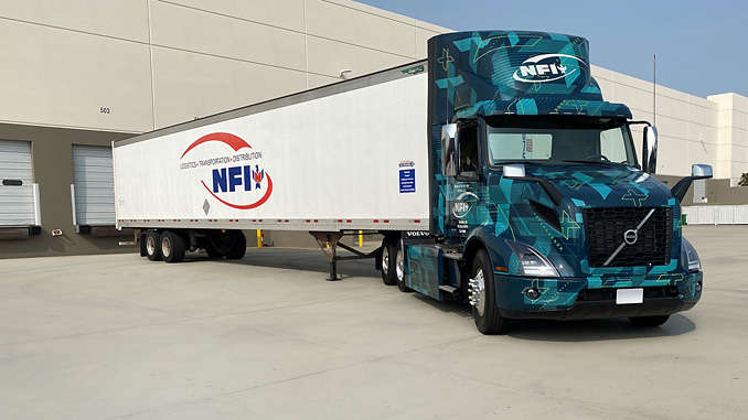Through the Volvo LIGHTS project, third-party supply chain solutions provider NFI will demonstrate the ability for battery-electric trucks to successfully transport freight under a variety of operating conditions