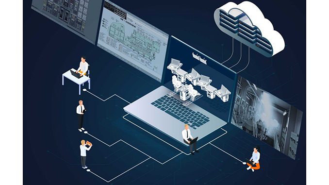 Wärtsilä Cloud Simulation developed by Wärtsilä Voyage enables remote access to training sessions when physical attendance is not possible or convenient