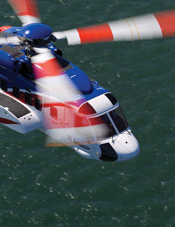 Bristow Helicopters' strict training standards require all pilots to be re-assessed every 6 months