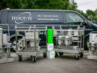 The mobile unit is one of a number of Delta-Xero options for clients looking for a value-adding filtration system