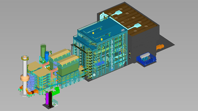 The wood combustion plant order comprises the turnkey delivery, installation and commissioning of two incineration lines on a chute-to-stack basis