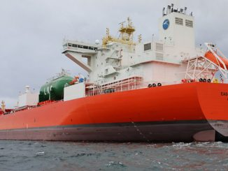 Crude oil tanker 'Eagle Blane' (photo: Equinor/Inger Johanne Stenberg)