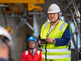 Erna Solberg, Norway's Prime Minister, kicks off construction of Hywind Tampen (photo: Equinor ASA/Øyvind Gravås – WoldCam)